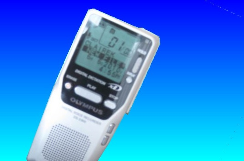 An Olympus Voice recorder that used XD card and recorded files to DSS format.