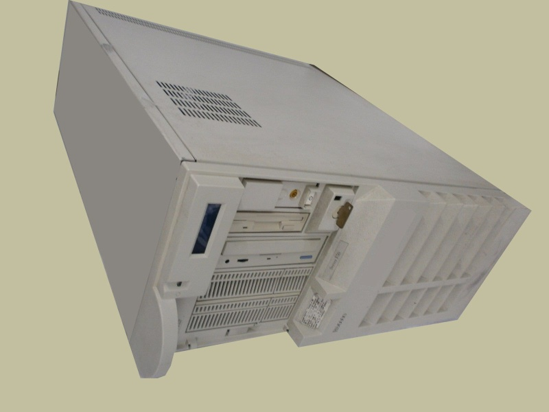 IBM RS6000 server used to control the HP SureStore Optical Disk JukeBox