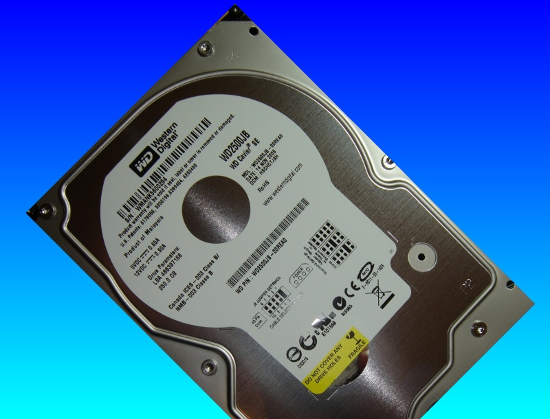 A Western Digital Drive from a G3 Mac.