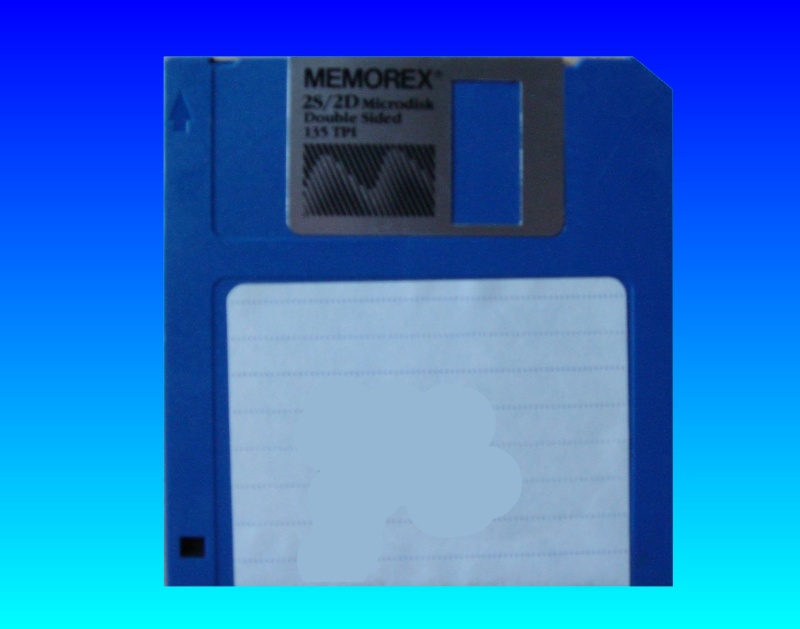 A floppy disk from an old Apple Mac which held a copy of Microsoft FILE database. This was an old database format that needed converting to Excel.