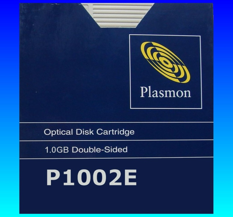 Data Recovery from a Plasmon Disk Cartridge model P1002E.