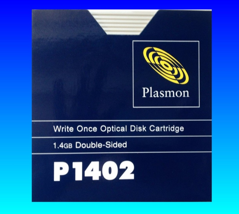 Plasmon Disk Conversion from Write Once P1402 Disc