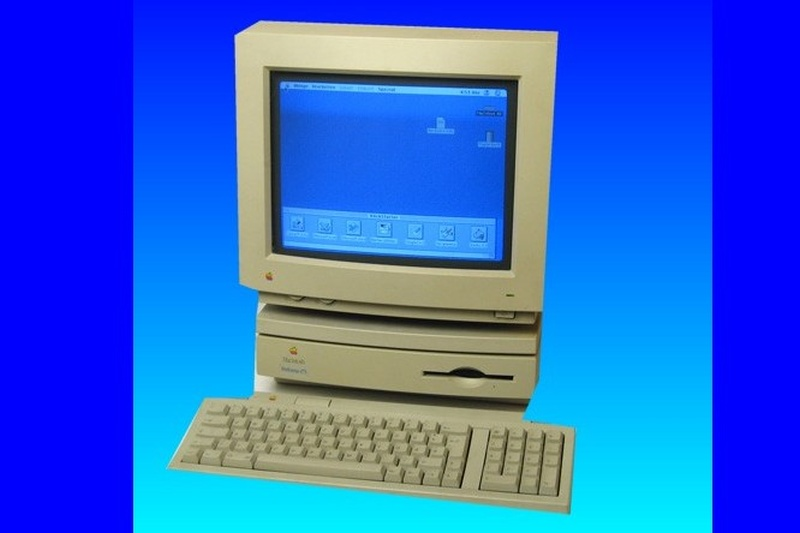 An Apple Macintosh Performa with scsi hard drive.