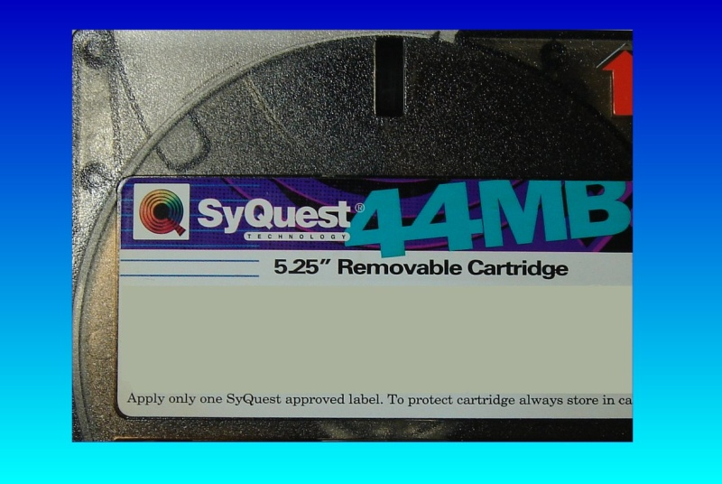 Converting a Syquest 44mb disk to cd.