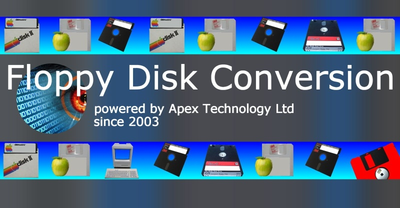 Transfer files from Floppy disks and conversions