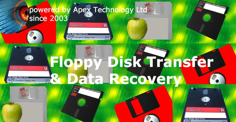 Floppy disk copying, file transfer and data recovery