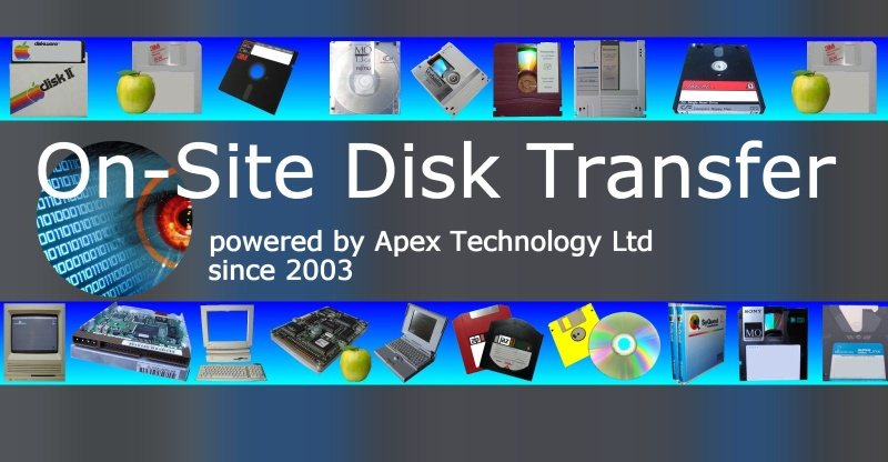 We perform On-Site Transfer for Optical, MO, UDO disks. Disks may be from Scanned Document Management Systems and convert to PDF ot TIF