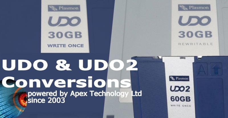 udo & udo2 disk conversions, file transfer, and data recovery