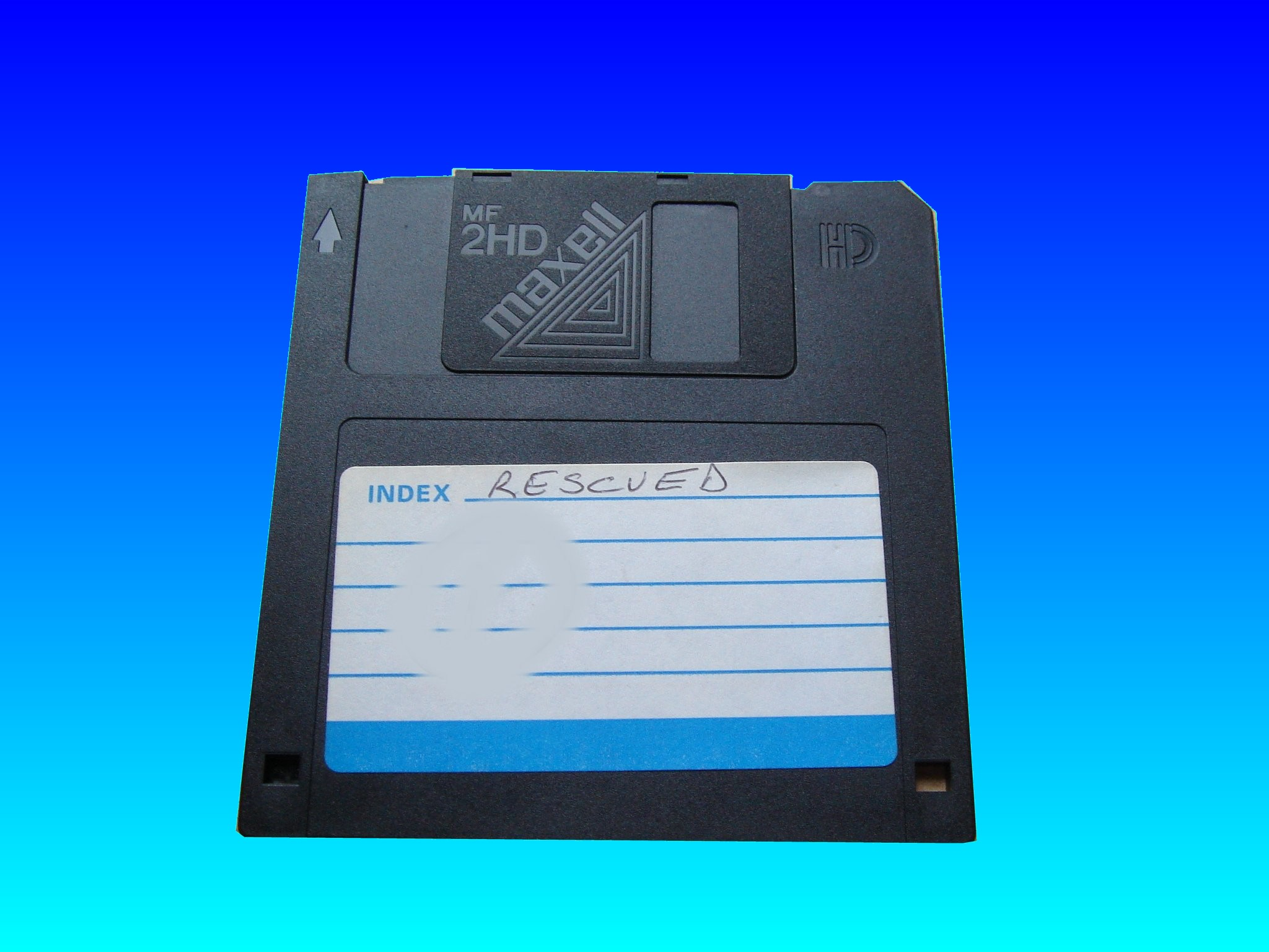 3.5inch floppy disks that was not recognised and would not open on the computer. It needed it's files transferred to Windows Word.