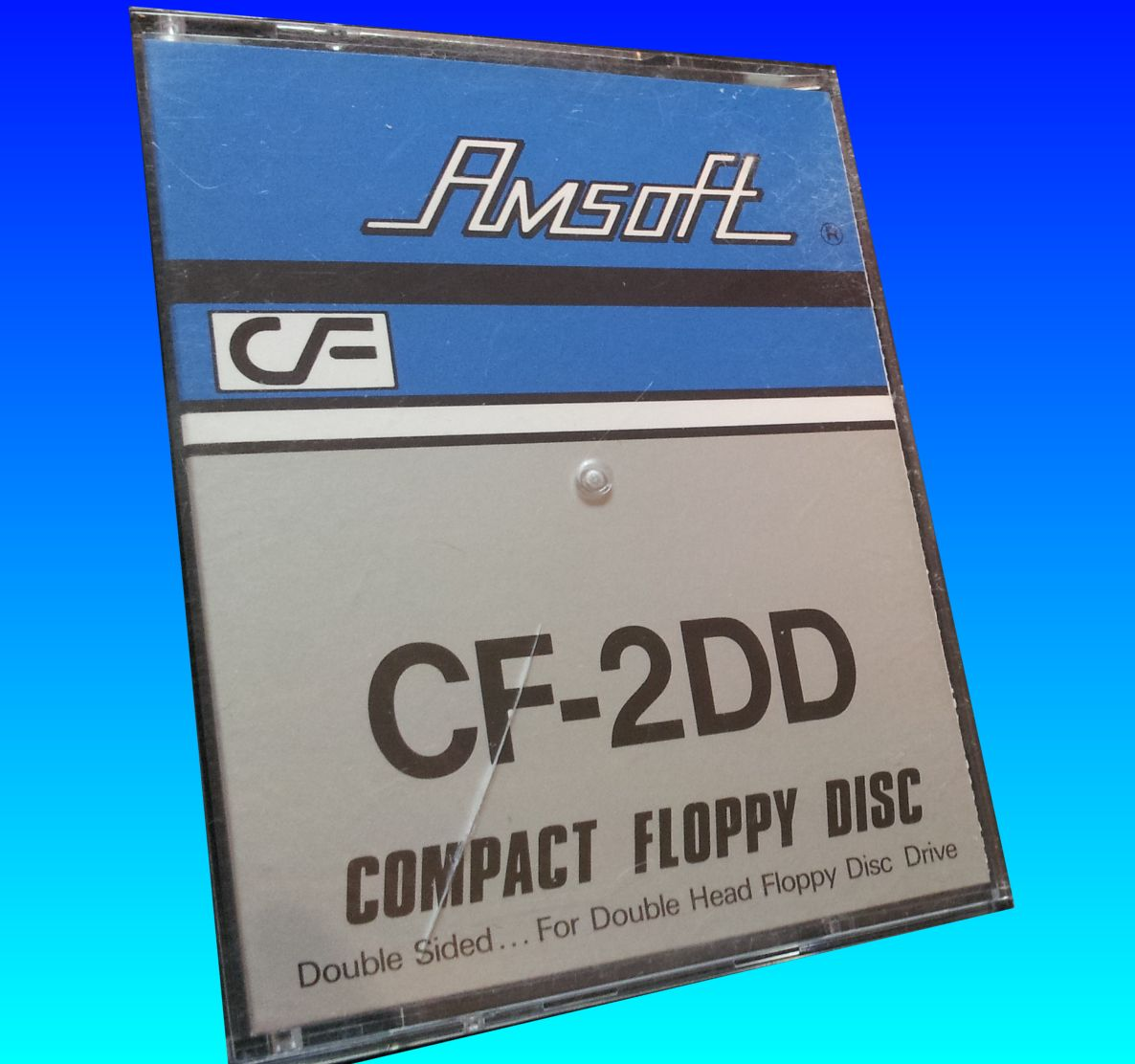 Converting the CF-2DD Amsoft Floppy Disk for Amstrad PCW Word Processor