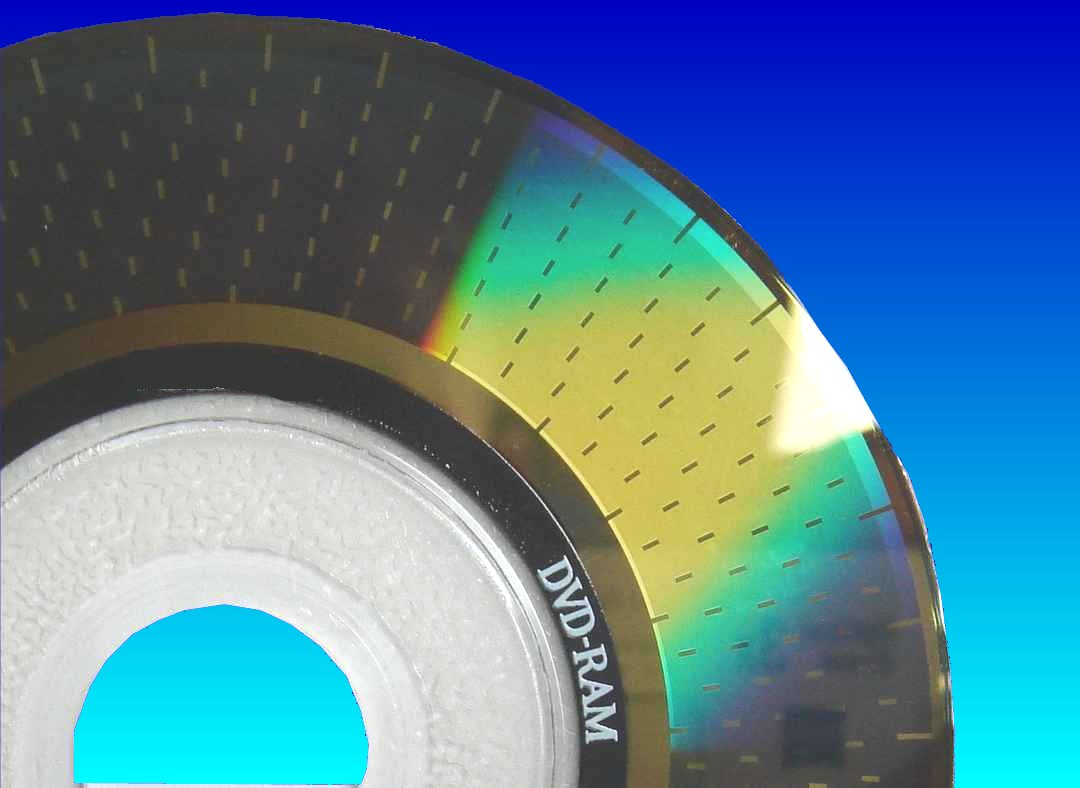 DVD-RAM in for file recovery