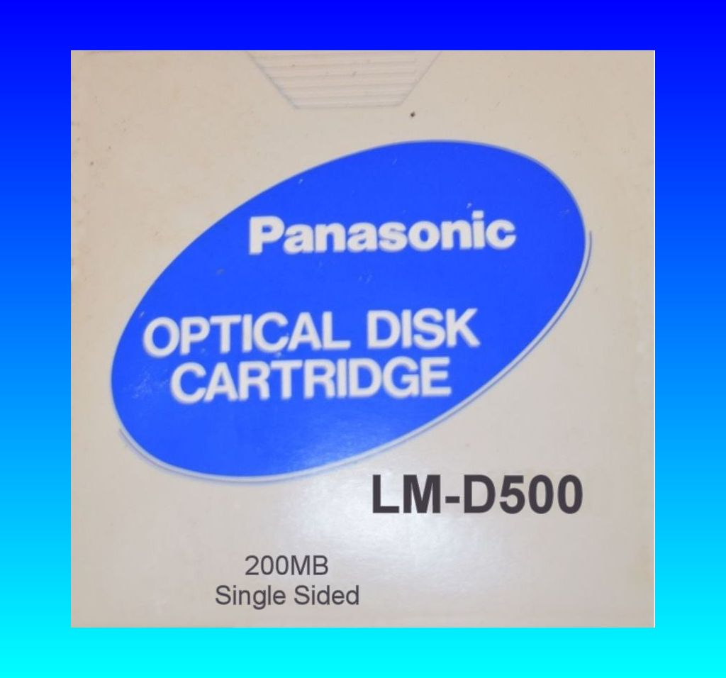 LM-D500 200MB Panasonic Optical Disk for file extraction and data recovery