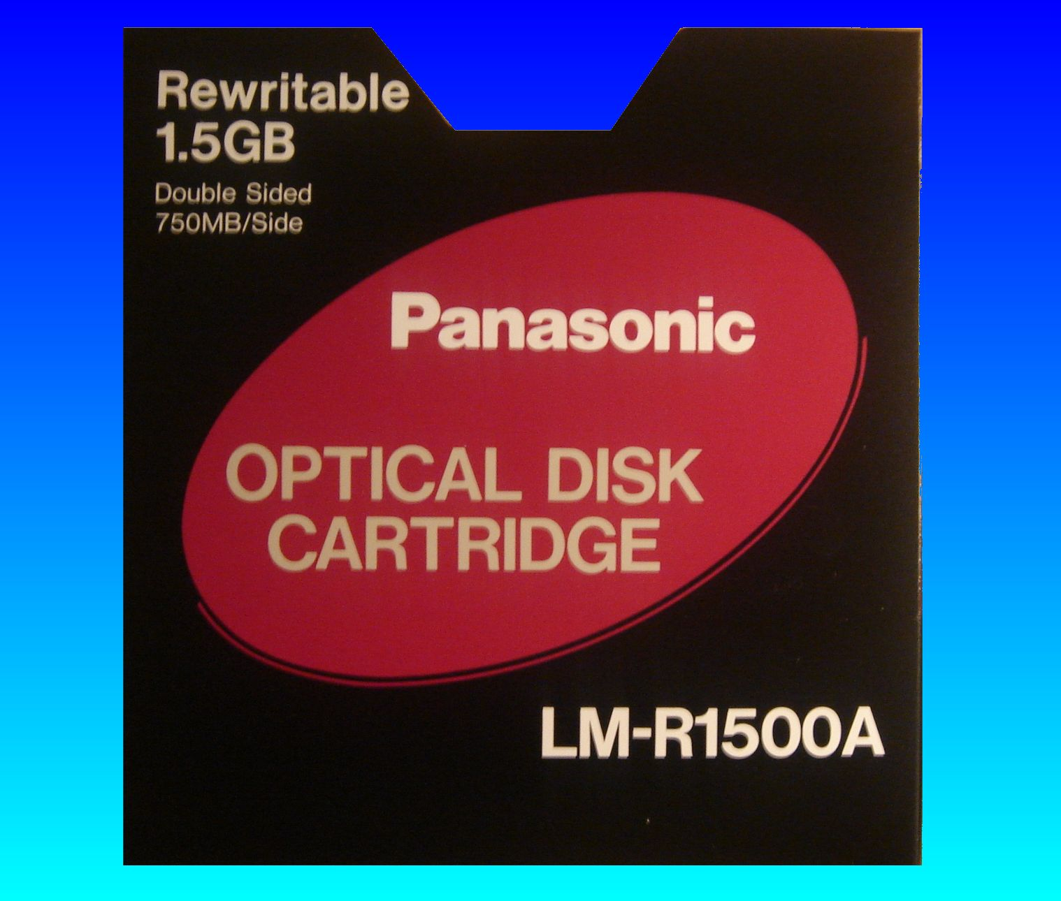LM-R1500A 1.5GB Panasonic ReWritable Optical Disk Cartridge Extract Files Disk Conversion