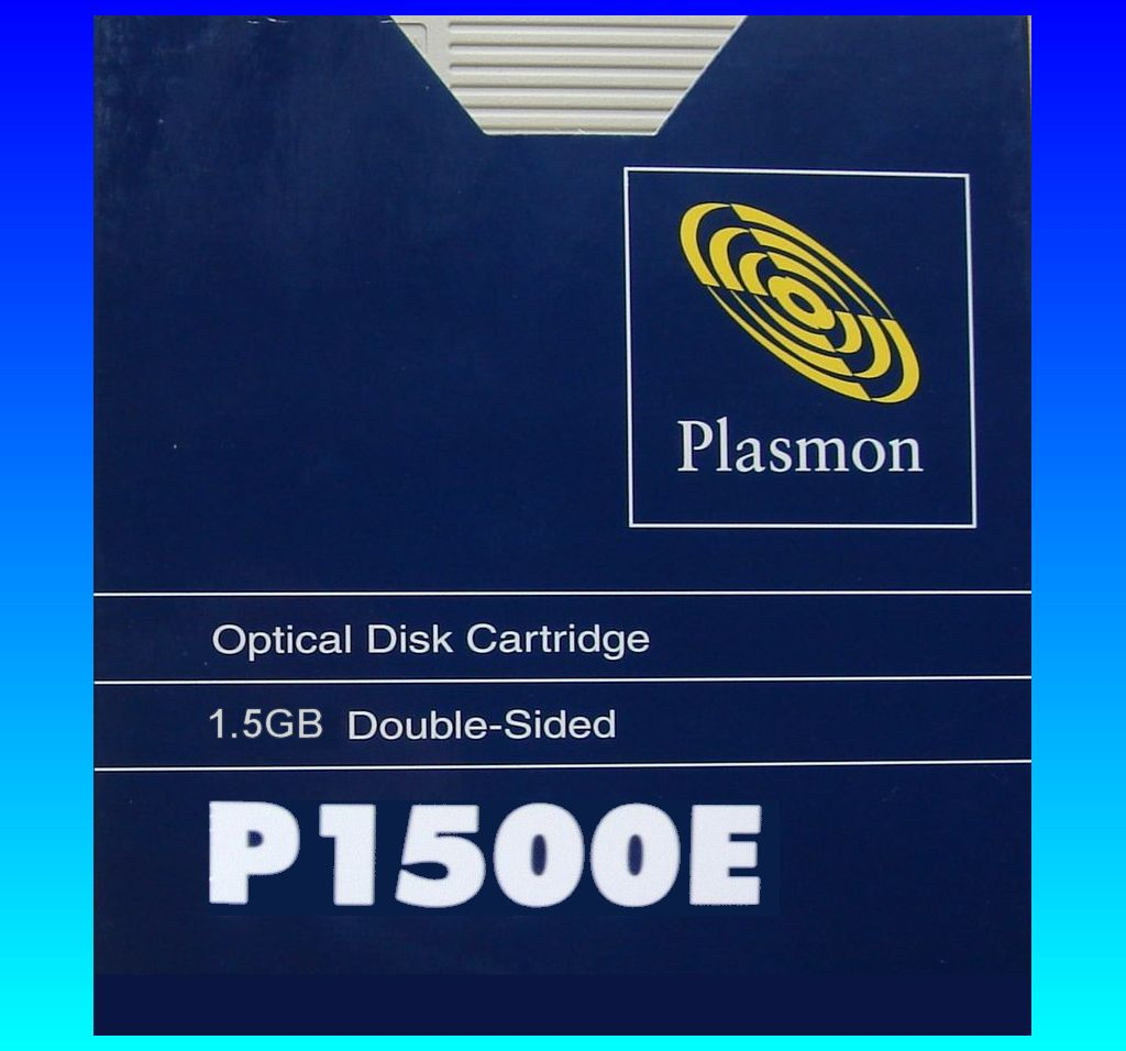 Extracting files from Plasmon Disk Cartridge P1500E