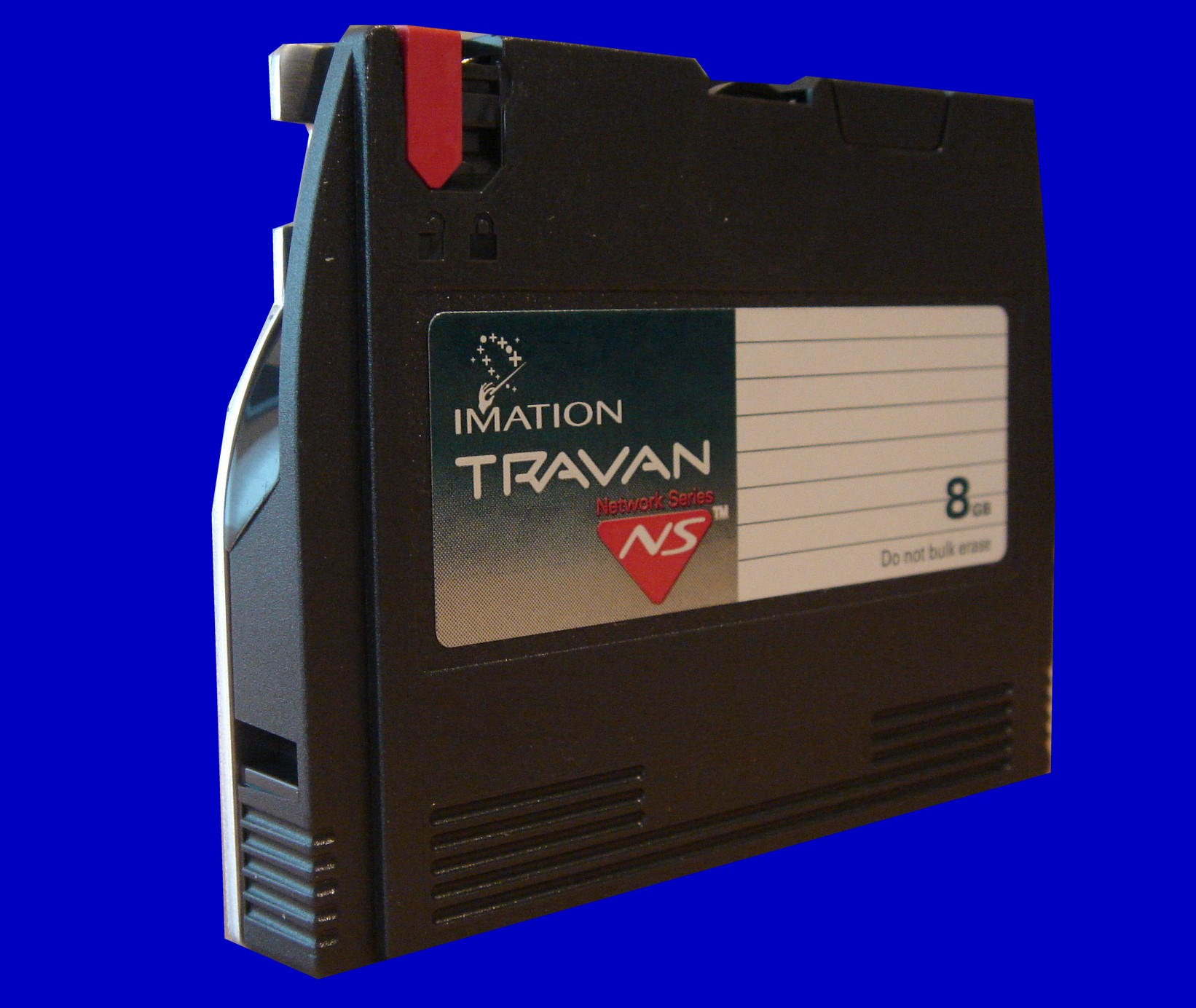 A QIC travan tape used in a Unix system to operate CNC machine.. The files were stored using tar so we restored them to a CD and made the files readable on a Windows PC.
