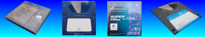 Superdisk 120mb 240mb Convert Transfer Recover Data Files to CD DVD or USB.