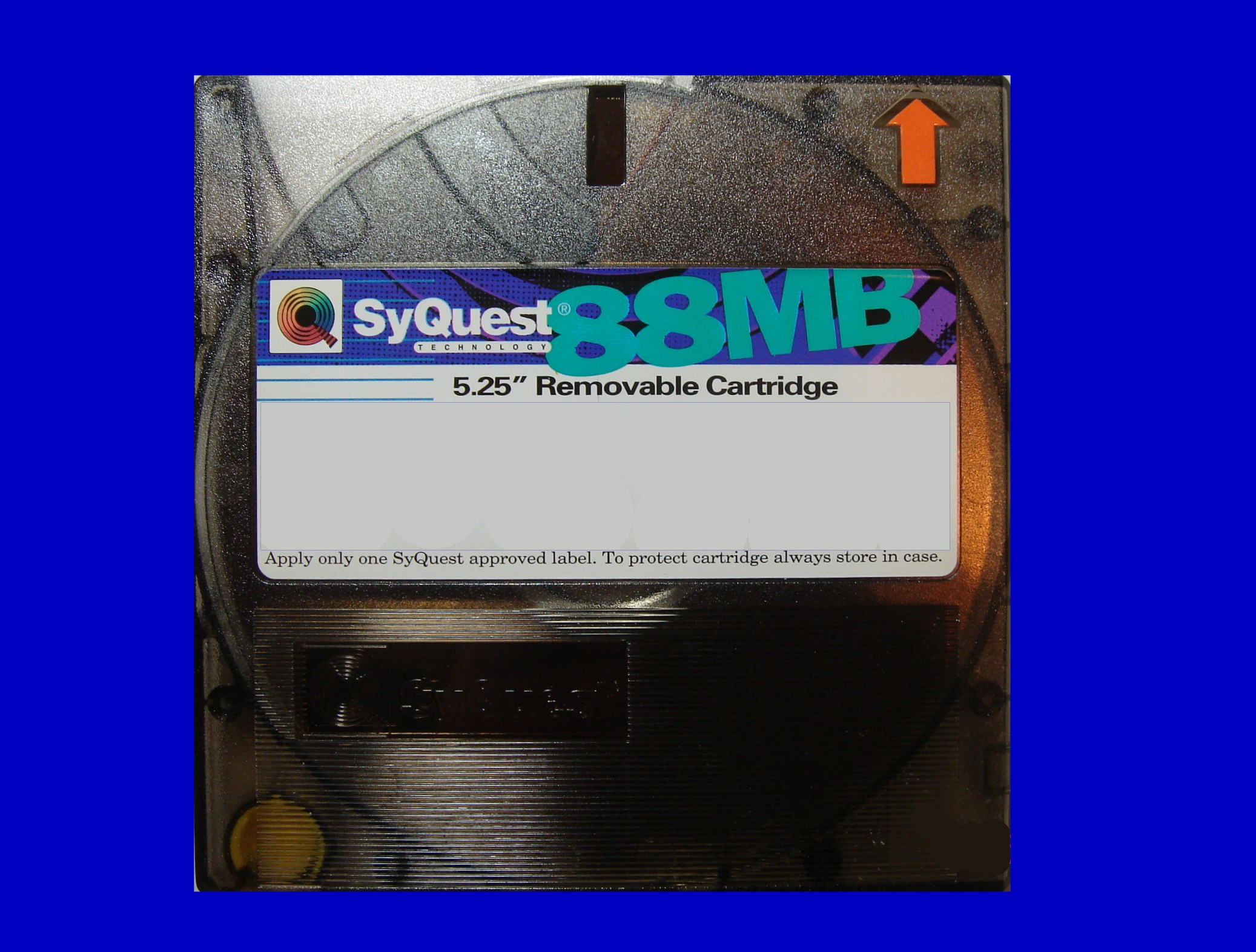 Data Recovery from an 88mb Syquest Removable Cartridge.