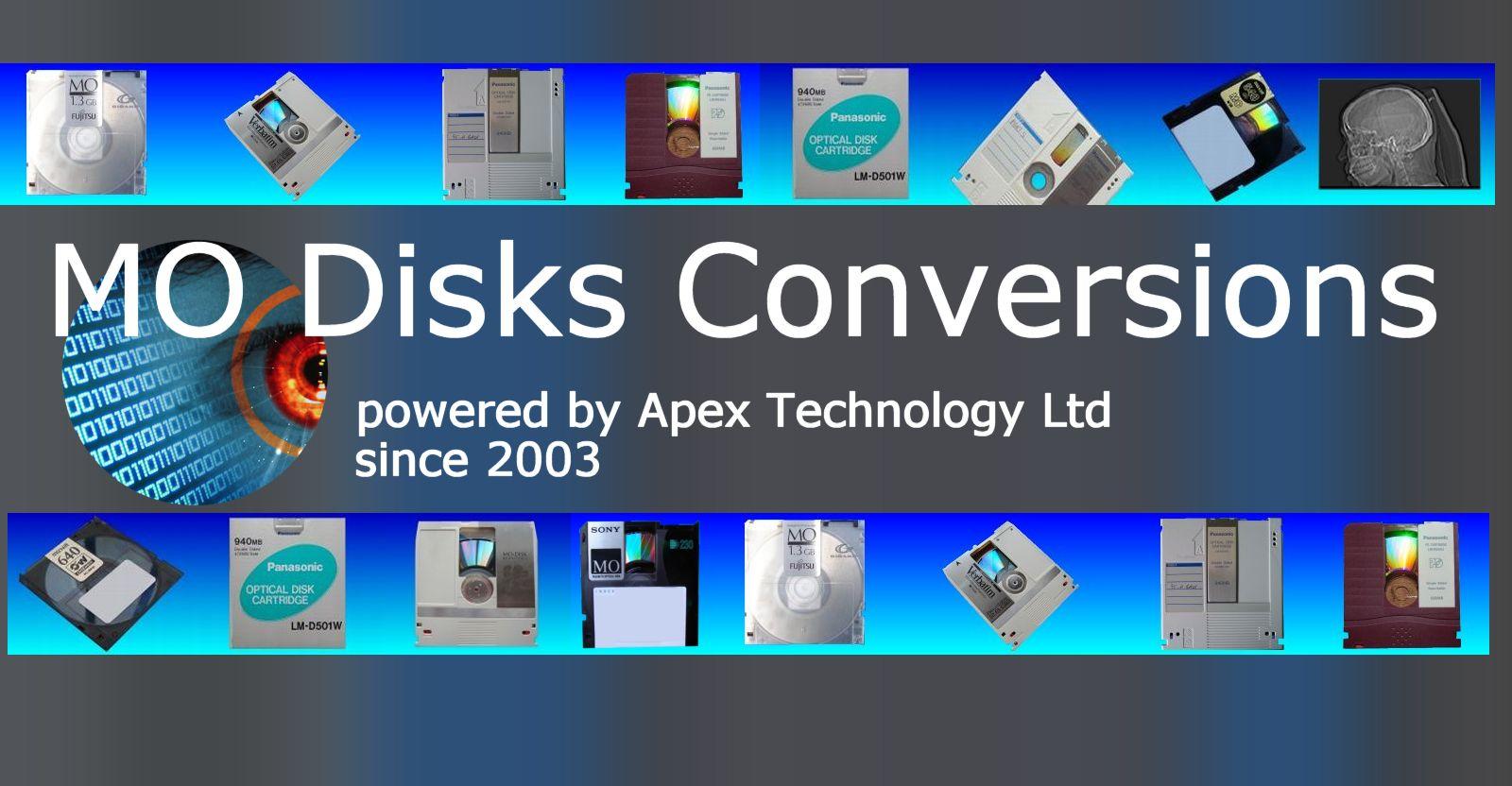 MO disk conversions