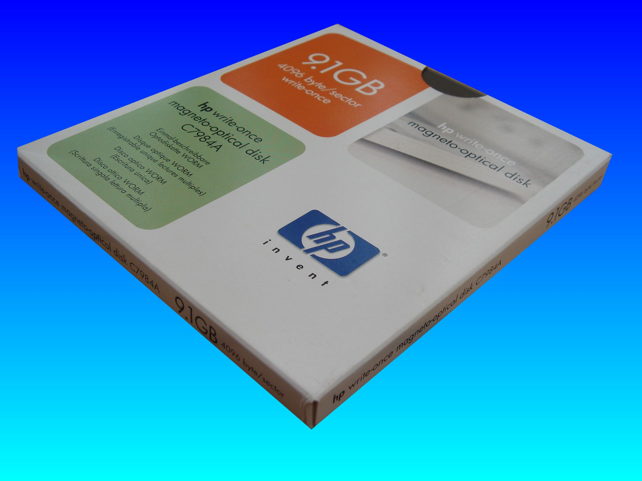Open-Text conversion from 9.1GB optical disk