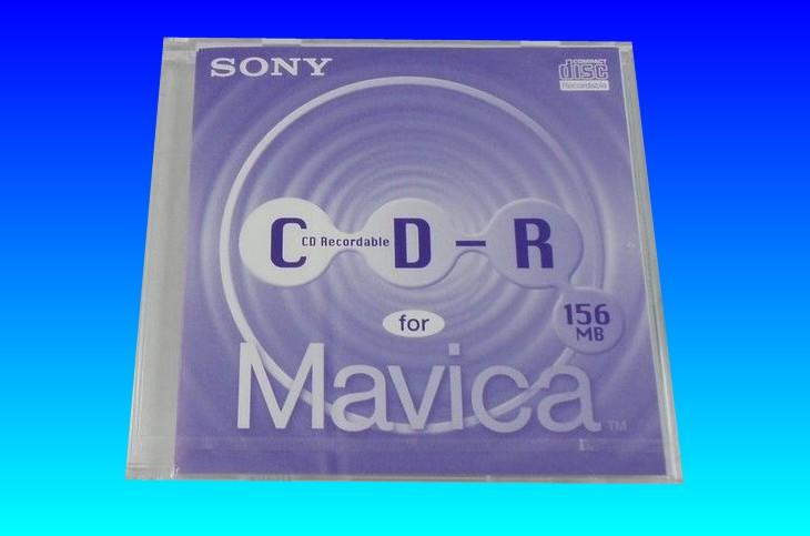 Sony Mavica CD storing photos and used in old Sony Camera