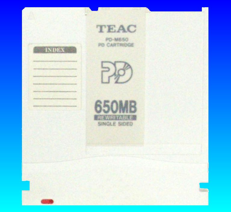 Teac PD-M650 cartridge 650mb