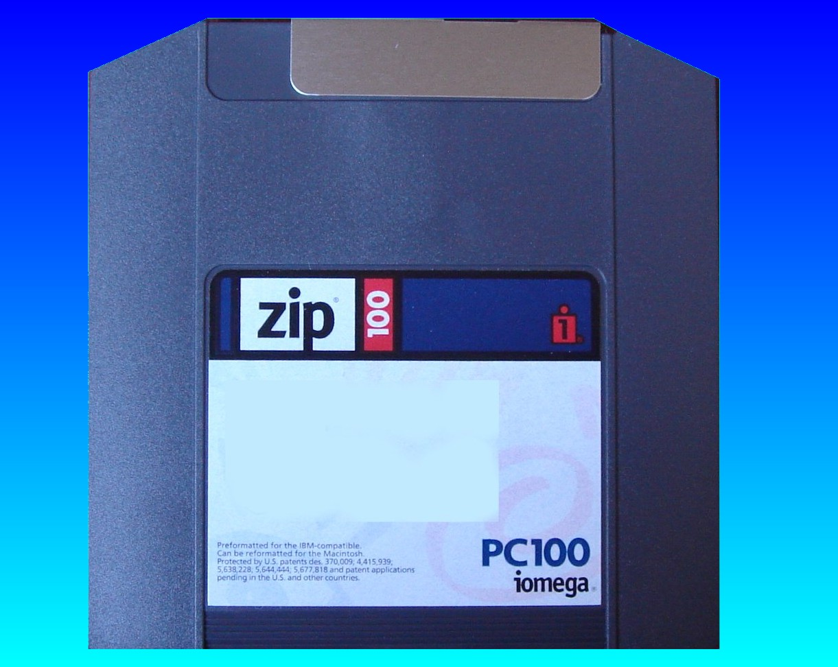 Copying files from ZIP disk to CD.