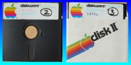 5.25 inch floppy disks from Apple II Conversions