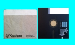 THe 8 ich disk was made by Nashua had files from a Dec RT11-A (PDP11). The files were converted from the old word processor to view on modern Microsoft Windows PC.