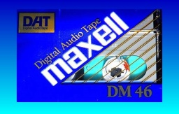 A Maxell Audio DAT cassette with music recordings that needed to be converted to CD or USB drive.