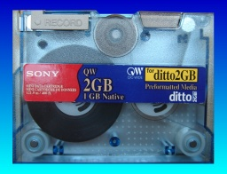Extract Ditto Tape Cartridge files