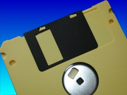 Data Recovery Floppy Disk showing unformatted