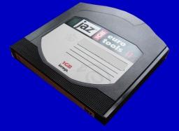 Mac Jaz Disk backup files transfer to DVD
