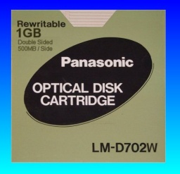 LM-D702W 1GB rewritable panasonic optical cartridge extracting files