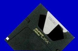 Superdisk LS-240 download data to CD
