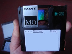 File transfer from old Optical MO disks to CD