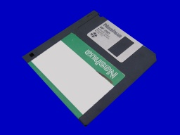 MacWrite files being transferred from Apple Mac floppy disk.