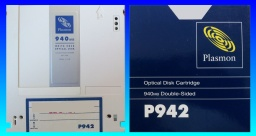 P942 Write Once Plasmon Optical Disk Cartridge File Recovery