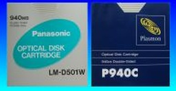 Corel / Panasonic and Plasmon Optical Disk file recovery