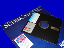 Supercalc convert to Excel file held on DOS floppy disk
