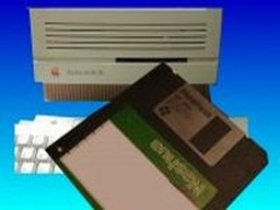 Old Apple Floppy discs file transfer
