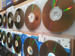DVD-RAM disks for conversion and file transfer