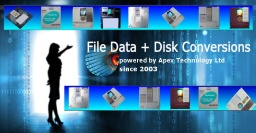 convert files and disks