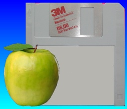 mac 3.5 apple disk awaiting file transfer and conversion