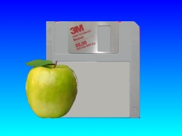 Transfer Apple Mac floppy disk Claris Works to Windows