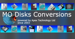 Conversion of Magneto-Optical Disks using Data Recovery Services