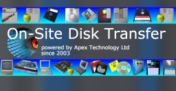 On-Site Disk Transfer and File Conversions