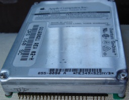 A SCSI drive from a Mac Powerbook or external 2.5inch drive